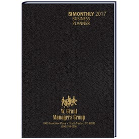 Imprinted Business Planning Manual Monthly Planner