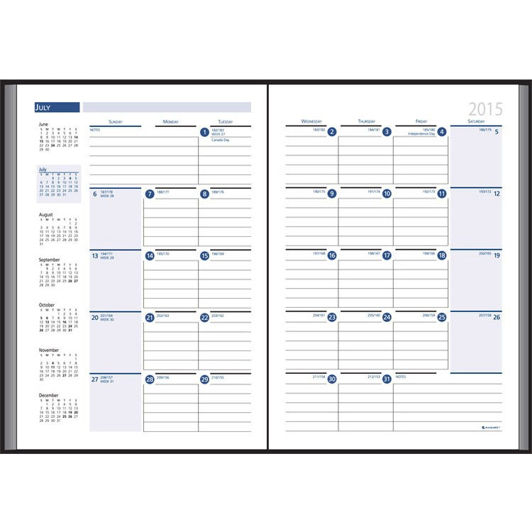 Business Planning Manual Monthly Planner 2015 Custom