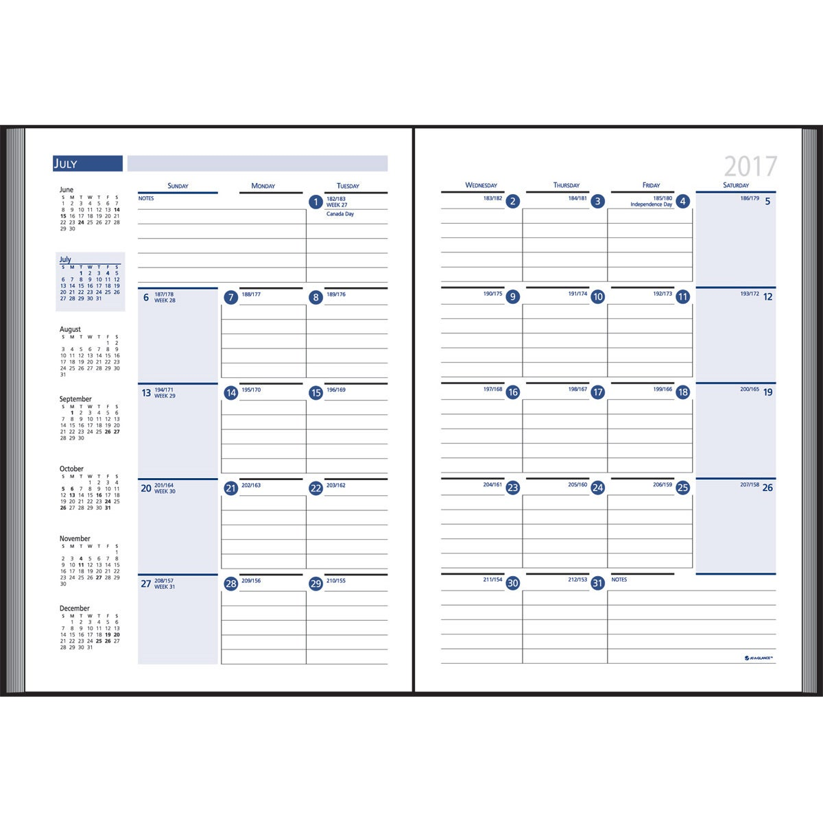 company weekly planner