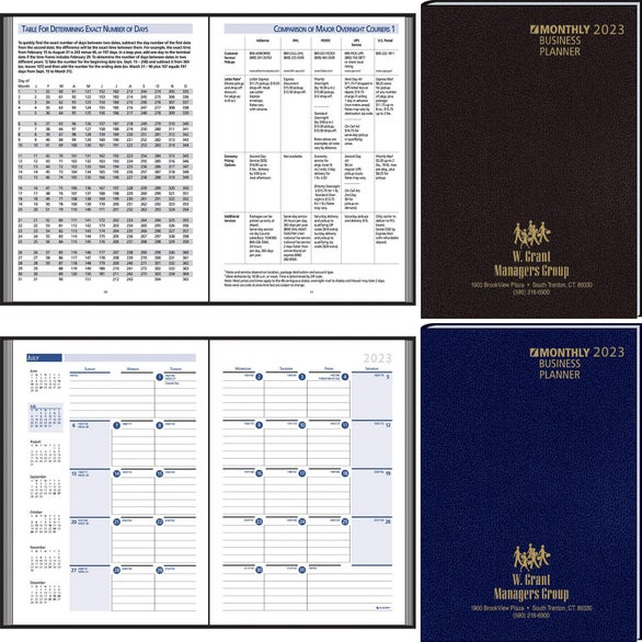 Custom Desk Planners Quality Logo Products Inc