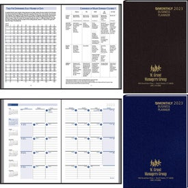 Printed Business Planning Manual Monthly Planner