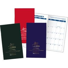 Cardstock Cover Monthly Pocket Planner