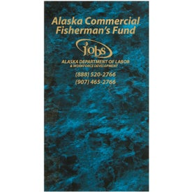 Cardstock Marble Cover Monthly Pocket Planner