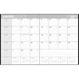 Classic Monthly Planner Branded with Your Logo