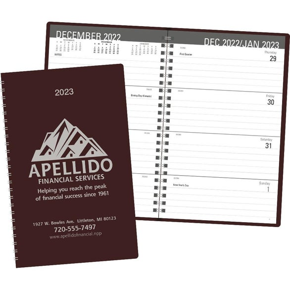 Classic Weekly Desk Planner