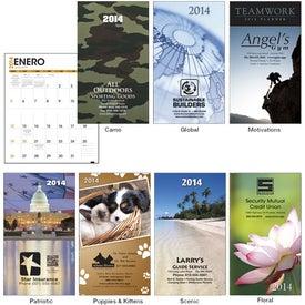 Custom Impressions Monthly Pocket Planner
