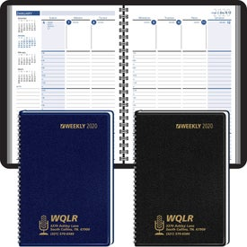 Column Style Weekly Wired Desk Planner (2020)