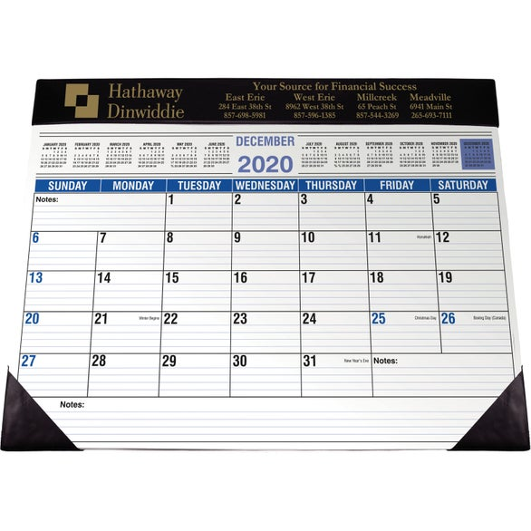 Promotional Desk Planners With Custom Logo For 3 73 Ea