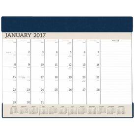 Vinyl Desk Pad Calendar Planner Combo for Advertising