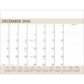 Vinyl Desk Pad Calendar Planner Combo for Marketing