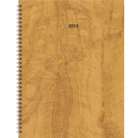 Hardcover Monthly Planner