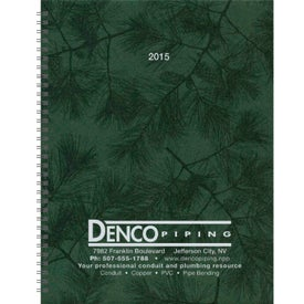 Company Hardcover Monthly Planner