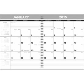 Hardcover Monthly Planner for Your Company