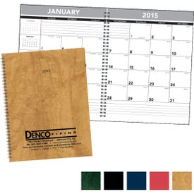 Promotional Hardcover Monthly Planner