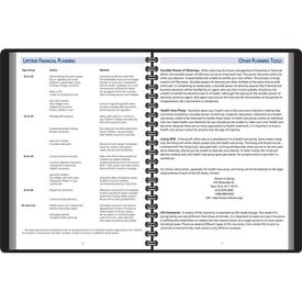 Customized Investors Planning Manual Monthly Planner