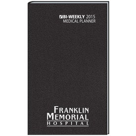 Medical Planner Bi-Weekly Imprinted with Your Logo