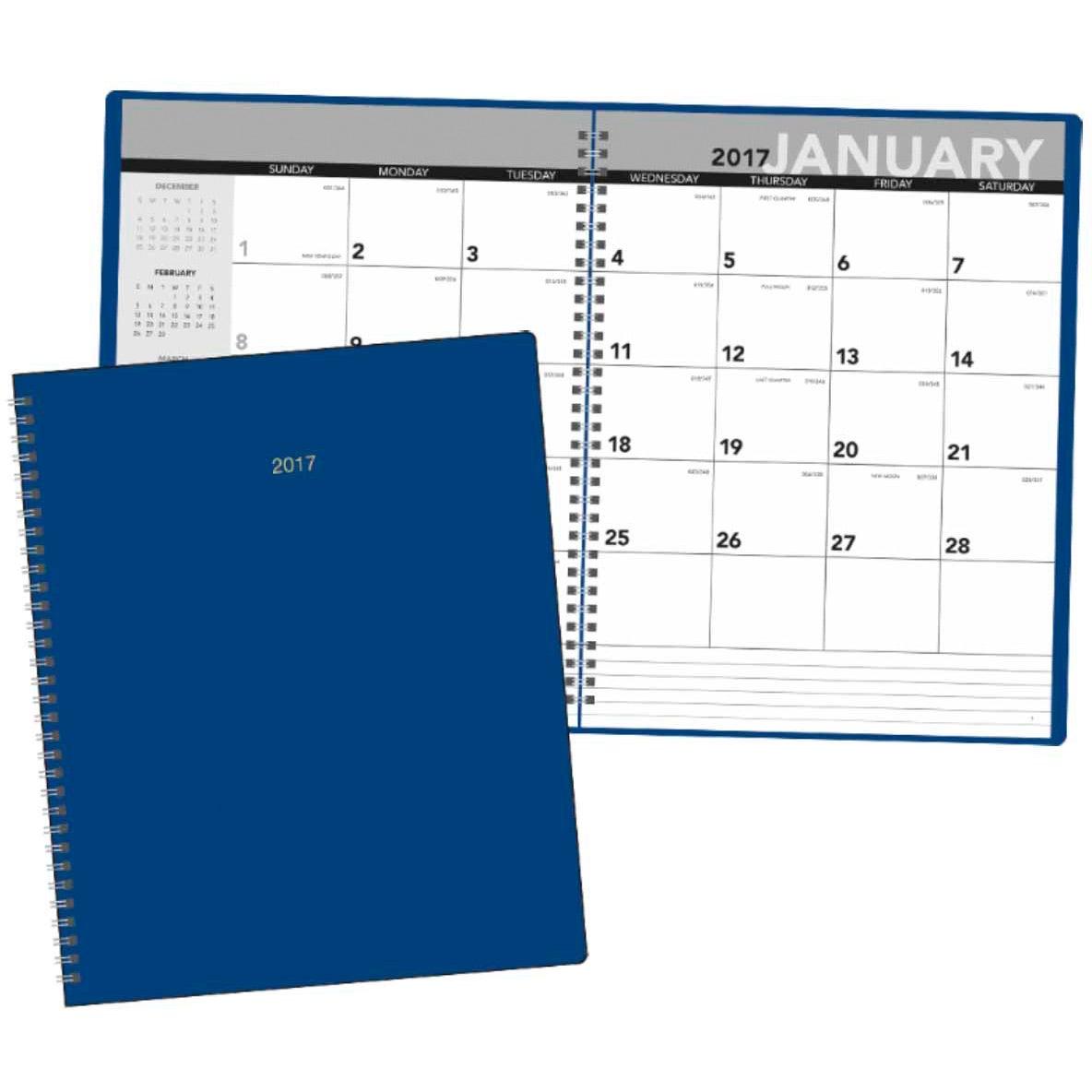 Monthly planner 2017 custom day planners ea for Custom photo planner