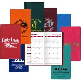 Monthly Standard Vinyl Pocket Planner