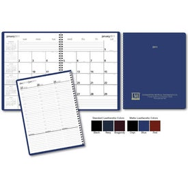 Branded Monthly and Weekly Planner