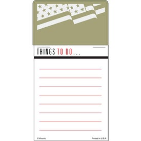 Printed Press-N-Stick - Things To Do List