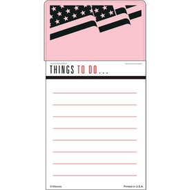 Branded Press-N-Stick - Things To Do List