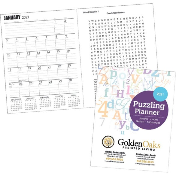 See Item Puzzling Planner