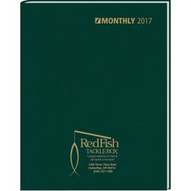 Ruled Monthly Stitched To Cover Desk Planner for Your Church