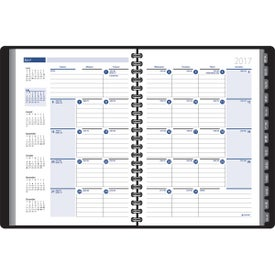 Personalized Ruled Monthly Format Tabbed Address Planner