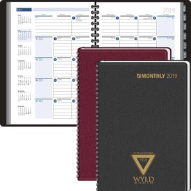 Ruled Monthly Format Tabbed Address Planner (2017)