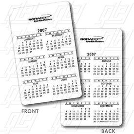 Vertical Wallet Card Planners