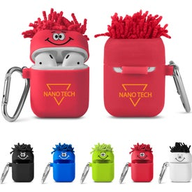 Moptoppers Silicone Earbud Cases with Carabiner
