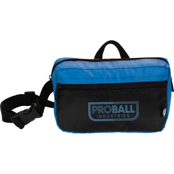 Royal / Black PrevaGuard Fanny Pack