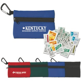 Golf First Aid Kits in Neoprene Pouch