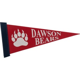 Colored Felt Pennant (12