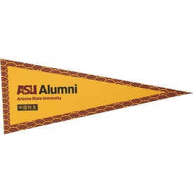 Full Color Pennant with No Strip (30