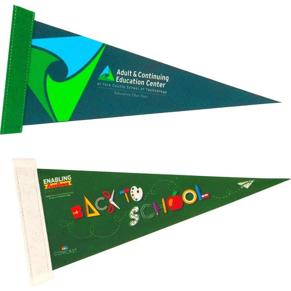 Full Color Imprint Full Color Pennants