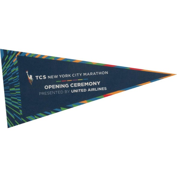 Full Color Imprint Full Color Pennants with No Strip