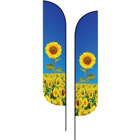 Medium Double-Sided Feather Flags
