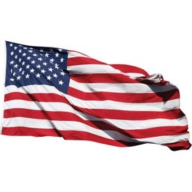 Nylon U.S. Flags (10 Ft. x 72