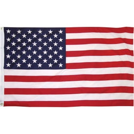 Outdoor Printed Cotton U.S. Flags