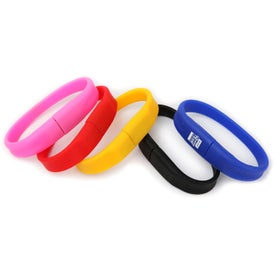 Curved Wristband USB Flash Drives (32 GB)