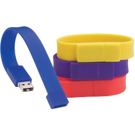 Flash Drive Wristbands (128 GB)