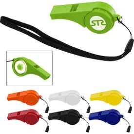 Safety Whistles with Light