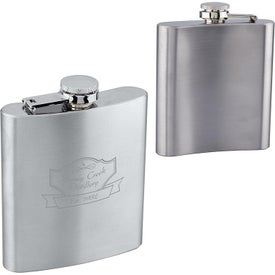 Stainless Steel Flasks (6 Oz.)