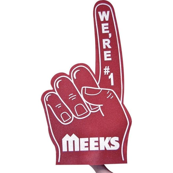Maroon #1 Foam Finger