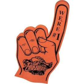 "#1 Foam Finger (11"" x 22"" x 1.25"")"