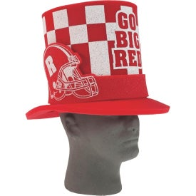 Foam Fan Hats with Football Helmet Band