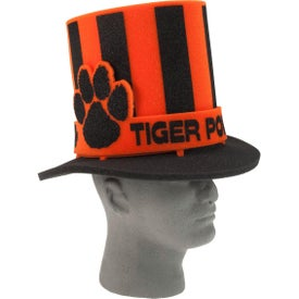 Foam Fan Hat with Paw Band