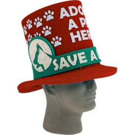 Foam Fan Hats with Round Band