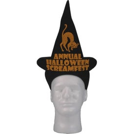 Foam Witch Hat Visors